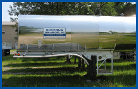 we have enclosed potable water trailers